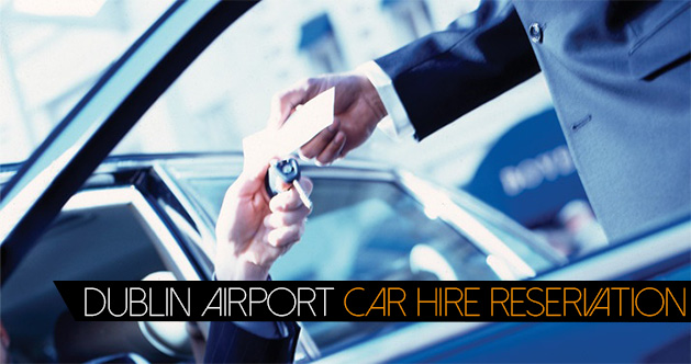 Dublin Airport Car Hire Reservation Banner